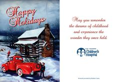 Merry Christmas and happy holidays from all of us at East Tennessee Children's Hospital!