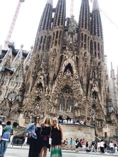 ASU Alpha Phi's Ali and Kaitlyn (on left) in Spain