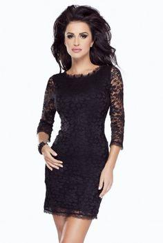 IVON Koronkowa sukienka model 190