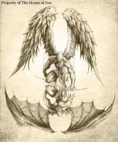deamons | Demons and Fiction | moniquejames tatuajes | Spanish tatuajes |tatuajes para mujeres | tatuajes para hombres | diseños de tatuajes http://amzn.to/28PQlav