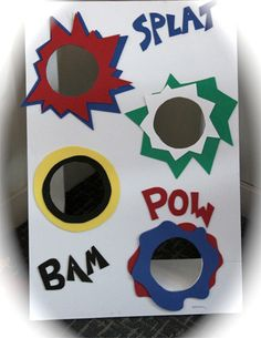 superhero birthday party game ideas | Super Hero Bean Bag Toss From Running this Thing Called Life - on ...