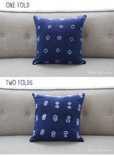 Indigo Mud Cloth Pillow {Knock Off} - Stacy Risenmay Bookshelf Makeover, Printing On Burlap, Pillow Tutorial, Grown Women, Create And Craft, Getting Cozy, Shibori, Mud, Fun Crafts