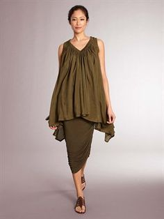 donna karan - great colour, and a lovely soft gather and drape on the top...