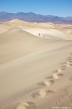 Death Valley National Park: Mesquite Flats Sand Dunes