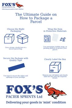 How to pack a parcel