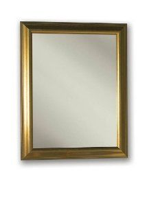 NuTone 535224 Monaco Framed Medicine Cabinet, Satin Gold Tone Finish, Single Door, Recessed Mount, 24-Inch by 30-Inch - Amazon.com