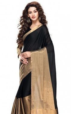 ROOP KASHISH NEW COTTON SAREE-Black-RKVSAryaa-VR-Cotton-Black-RKVSAryaa-VR-Cotton
