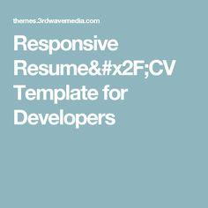 Laravel 5 tutorial for beginners getting started hello laravel responsive resumecv template for developers yelopaper Gallery
