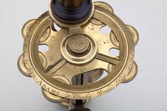 George Adams, detail of New Universal Microscope, ca. 1746  (The Golub Collection, University of California, Berkeley)