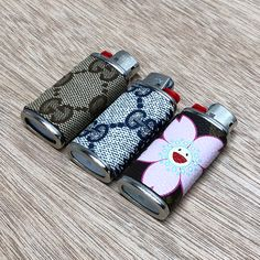 a063df7f983 Authentic Gucci and Murakami MINI lighter sleeves Custom Lighters