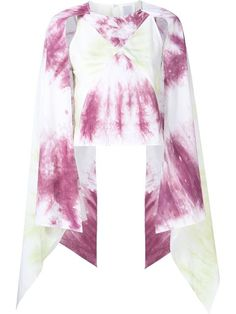 ROSIE ASSOULIN Tie-Dye Panel Top. #rosieassoulin #cloth #top