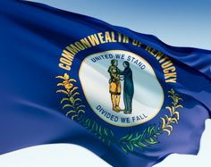 Kentucky State Flag | ky state flag