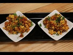 Ready in a jiffy, but no compromise on the taste factor. - Paneer bhurji is a popular preparation loved by Indians across the world. Paneer bhurji is a famou. Best Paneer Recipes, Sanjeev Kapoor, Curries, Fried Rice, Cheese, Ethnic Recipes, Youtube, Food, Meal