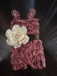 how to make a lace ruffle petti romper - Google Search