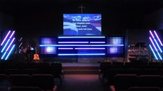 Notes and Lines from First Christian Church in Huber Heights in Dayton, Ohio   Church Stage Design Ideas