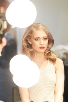 Girls Night Out- 1950s hair and lips inspiration
