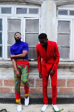 """That African Flavour ❤? Kamsi TCharles presents its """"Czar & The Rabbi"""" S/S 2016 Collection African Inspired Fashion, African Print Fashion, Ankara Fashion, African Prints, African Fabric, African Wear, African Attire, African Dress, Estilo Dandy"""