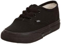 premium selection 4c68b 4151c Vans Authentic - Zapatillas de lona, unisex, color negro (schwarz schwarz)