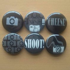Check out this item in my Etsy shop https://www.etsy.com/listing/281437206/camera-ready-1-pinback-buttons