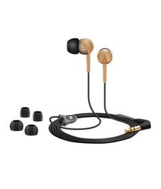 Features of Sennheiser CX 215 In-ear-canalphone Canalphone Wired Connectivity 16 ohm Headphone Impedance In the Ear Headphone 3.5 mm Headphones Jack 110 dB/mW Headphone Sensitivity at 1 kHz 1.2 m Symmetric Cable