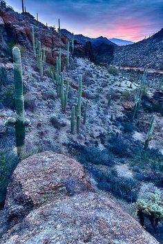 Gate's Pass, Tucson AZ Sunrise, Arizona, USA. photo by Rob Travis on Flickr.