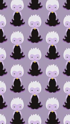 Adorable Ursula little mermaid wallpaper