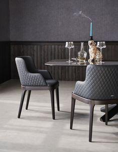 High-end Magda Couture Armchair - Italian Designer & Luxury Furniture at Cassoni Italian Furniture Brands, Modern Furniture Stores, Fine Furniture, Luxury Furniture, Furniture Design, Wooden Furniture, Furniture Logo, Outdoor Furniture, Furniture Layout