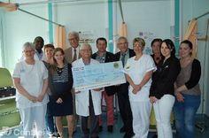 Le Lions club offre 2.000 € à l'hôpital de jour - CHATEAUDUN
