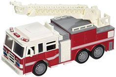 Driven Mini Fire Truck Vehicle >>> Want additional info? Click on the image(It is Amazon affiliate link). #liking