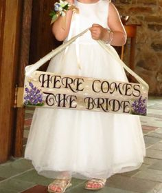 Here Comes The Bride Sign Texas barnwood Wedding Signs on Etsy, $15.00