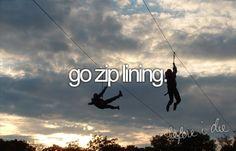 Go zip lining