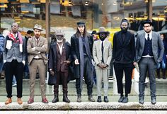 Tommy Ton Shoots Street Style at the European Men's Shows