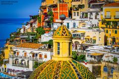 Positano Rooftops by Cory Schloss on 500px