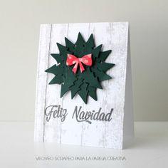 """¡Hola a tod@s! Aquí os traigo el ultimo reto del año… ¿Qué rápido pasa el tiempo, verdad?Ha llegado la hora de meterse de lleno en el espíritu navideño, si no lo habéis hecho todavía. Y para celebrarlo este mes no tenemos un Producto del Mes, no… ¡tenemos dos! El stencil """"Navidad Clásica"""" y el set …"""