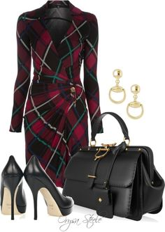 """Vintage Gucci"" by orysa ❤ liked on Polyvore work attire someday soon ;)"