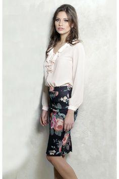 Fusta Emily Multi- www. Valentines, Floral, Skirts, Collection, Fashion, Valentine's Day Diy, Moda, Fashion Styles, Valentine's Day
