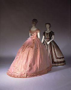 French 1864 Dress