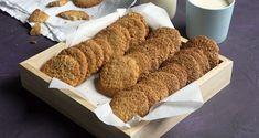 Μπισκότα βρόμης από τον Άκη Πετρετζίκη! Φτιάξτε σπιτικά και τραγανά μπισκότα βρόμης με κανέλα και τζίντζερ! Μια εύκολη κι αρωματική συνταγή!