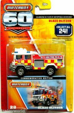 Blaze Blitzer Autos Matchbox Mainline USA