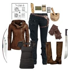 Female gladiator- the maze runner by gone-girl on Polyvore featuring James Perse, Logan Neitzel, Alexander McQueen, Zippo, Danier and MazeRunner
