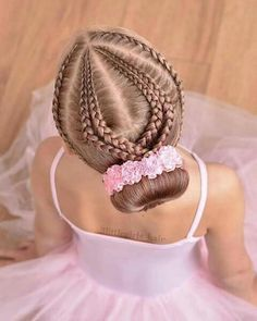 The Beauty of Braided Hairstyles Cute Little Girl Hairstyles, Black Kids Hairstyles, Girls Natural Hairstyles, Dance Hairstyles, Braided Hairstyles, Natural Hair Styles, Long Hair Styles, School Hairstyles, Braided Ponytail