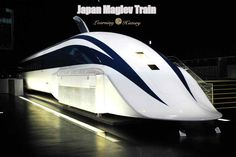 High Speed Rail Train: Japan Maglev Train | via @learninghistory