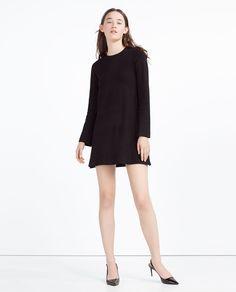 DRESS WITH A BACK ZIP-Mini-DRESSES-WOMAN | ZARA United States