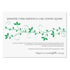 DIYWeddingTemplates.com - Wedding Invitation Templates | Lela (Kelly Green), $10.00 (http://www.diyweddingtemplates.com/wedding-invitation-templates-lela-pewter/)