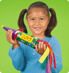 New Year's Rocket from Lakeshore Learning: Children will have a blast ringing in the new year with this colorful rocket!