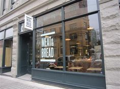 Meat and Bread - JV is obsessed with this place. Weirdly, he was originally convinced it was in LA.  Reasons unknown.