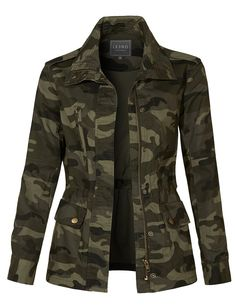 Long Sleeve Drawstring Waist Camo Military Anorak Jacket with Pockets Long Sleeve Drawstring Waist Camo Military Anorak Jacket with Pockets Long Sleeve Drawstring Waist Camo Military Anorak Jacket with Pockets<br> Military Jacket Outfits, Camo Jacket Women, Camo Outfits, Mode Outfits, Casual Outfits, Military Jacket Women, Camoflauge Jacket Outfit, Women's Military Jackets, Army Green Jacket Outfit