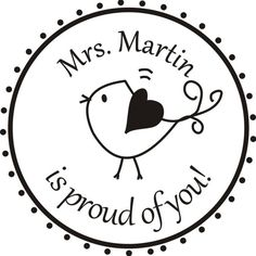 personalized teacher gift self inking custom stamp teacher stamp