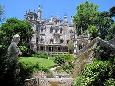 Quinta da Regaleira in Sintra, Portugal.