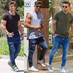 1-2-3❓Which one? Follow @mensfashionairy